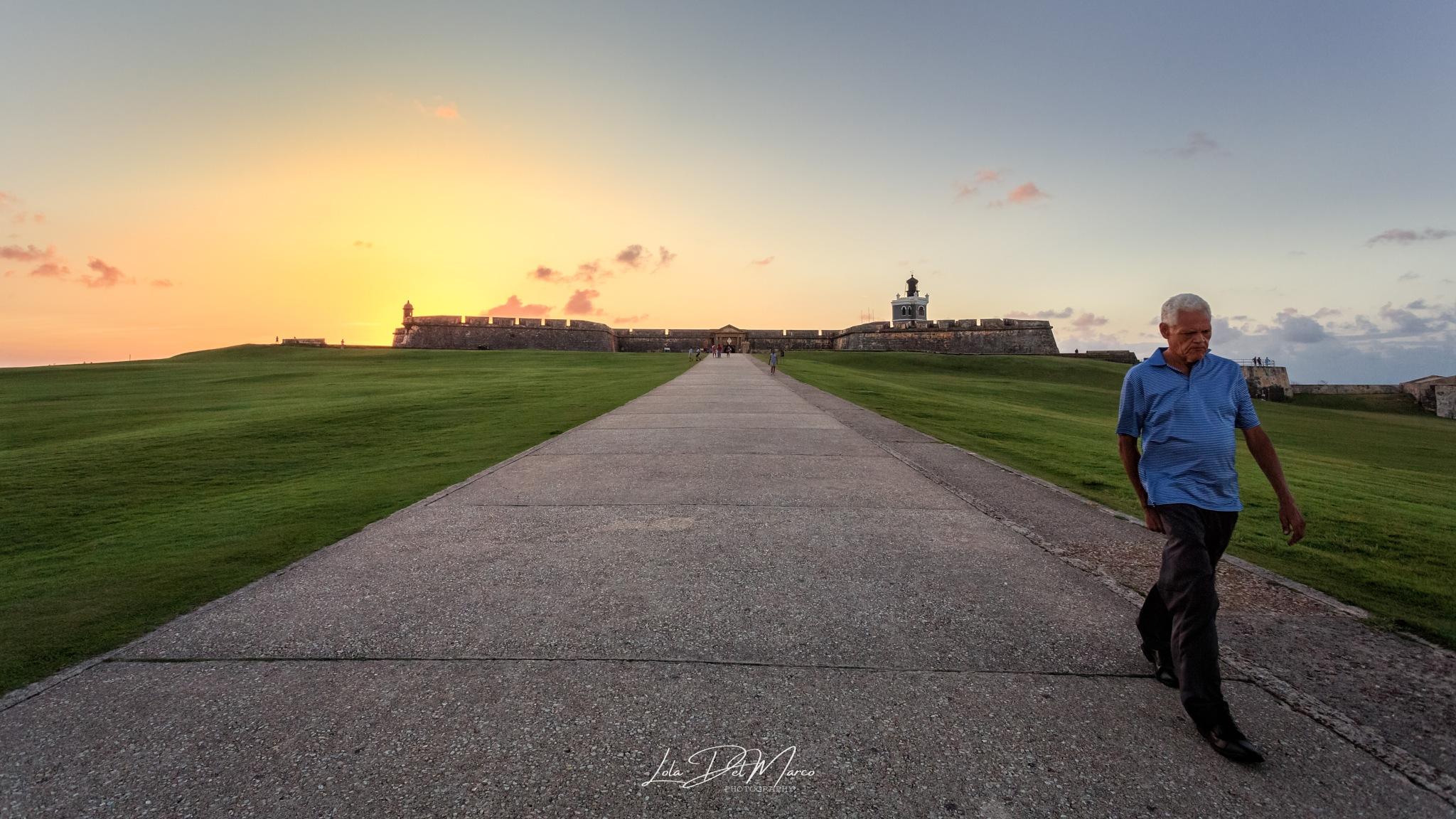 El Morro Sunset by LolaDelMarco