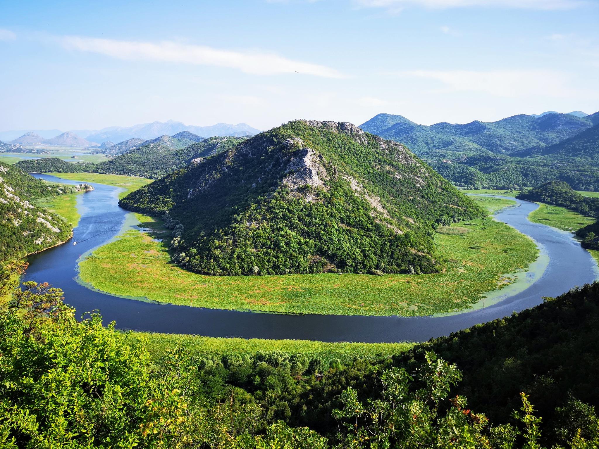 Where the river turns... by Kasia Michalska
