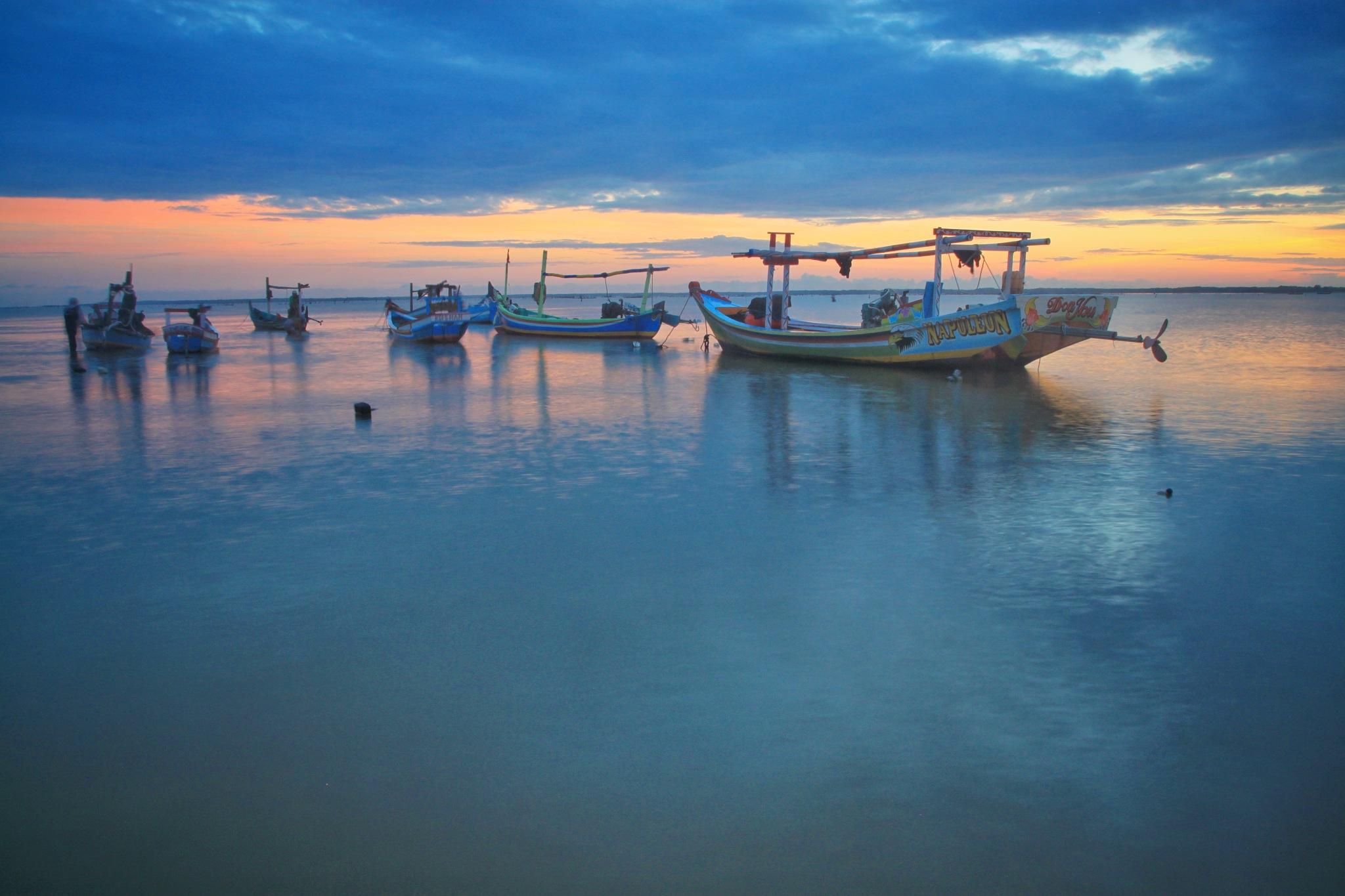morning blue by Cak Har