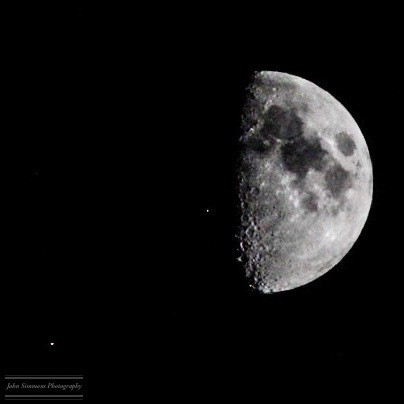 Moon by John Simmons Photography
