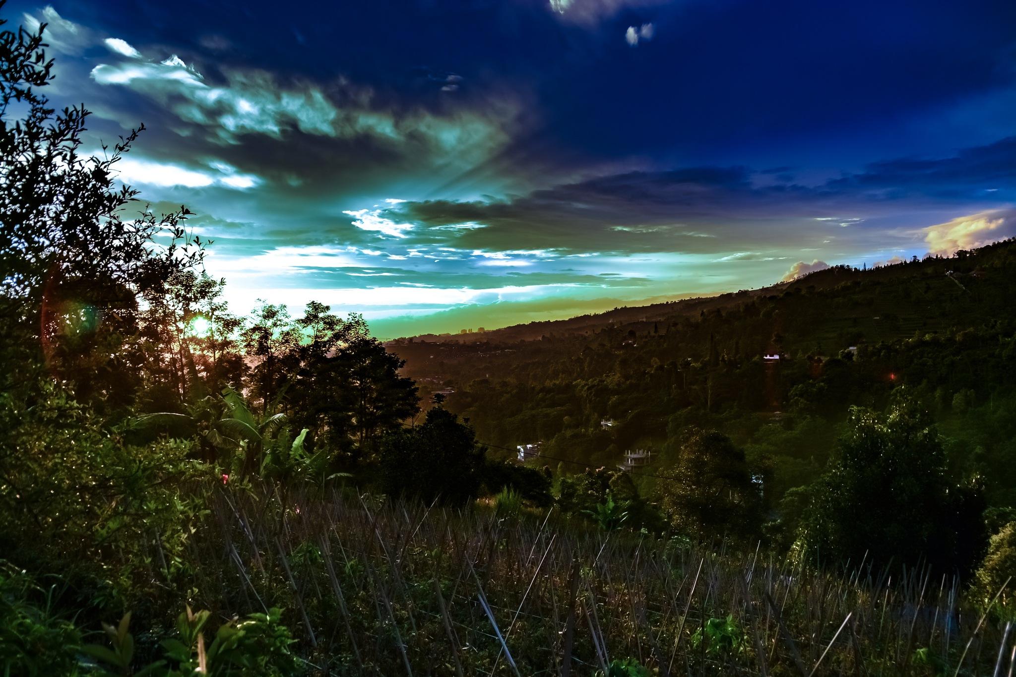 After sunset by Mahyudin Djunaidi