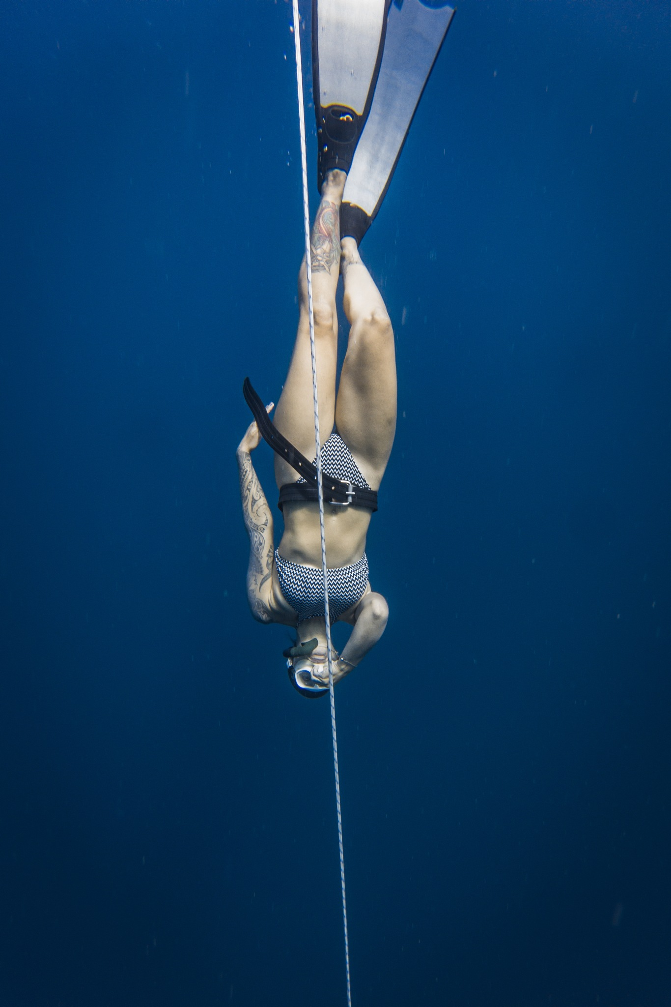 Freedive Training by Yoshua Surjo