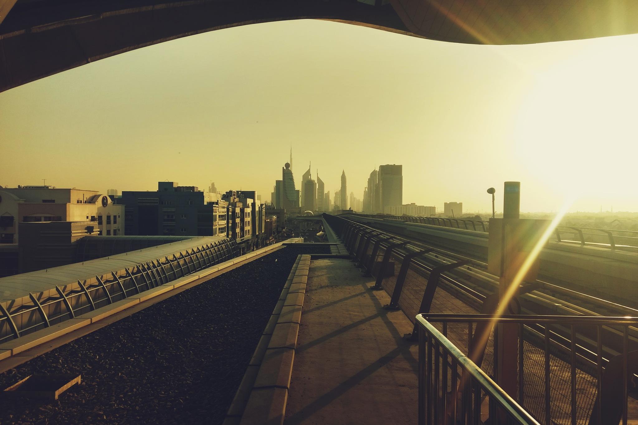 cityscape by Athul Ak