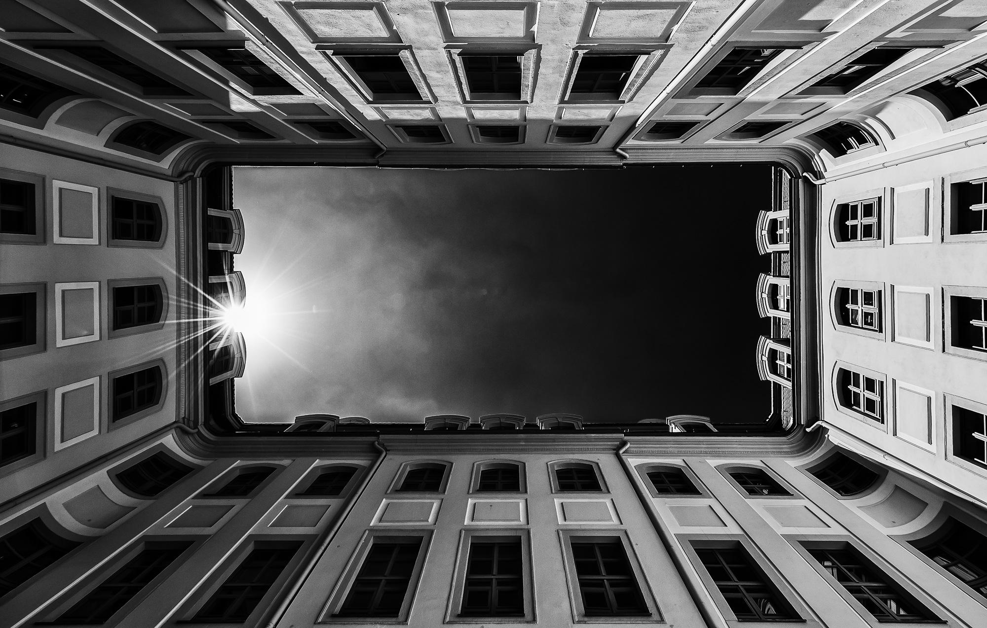 Courtyard by Werner Schwehm