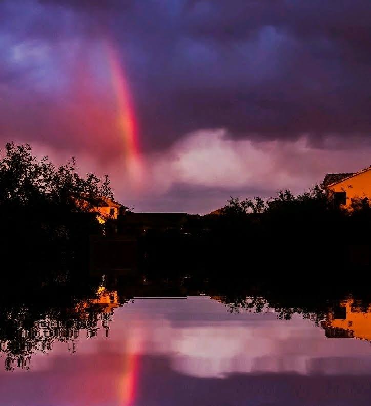 Summer Rainbow by Rick Goltz