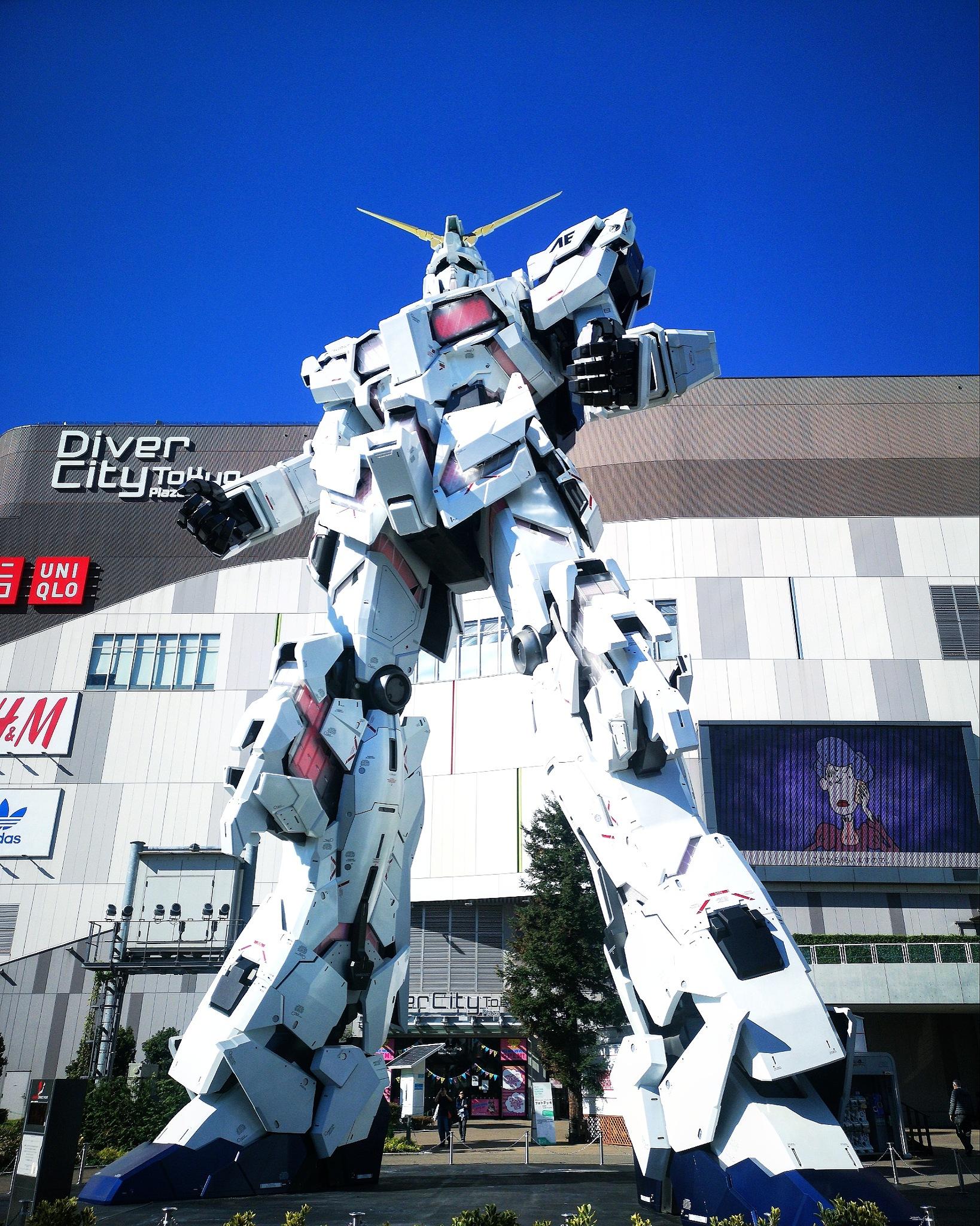 RX-0 Gundam Unicorn (Destroy Mode)  by Xiao Feng