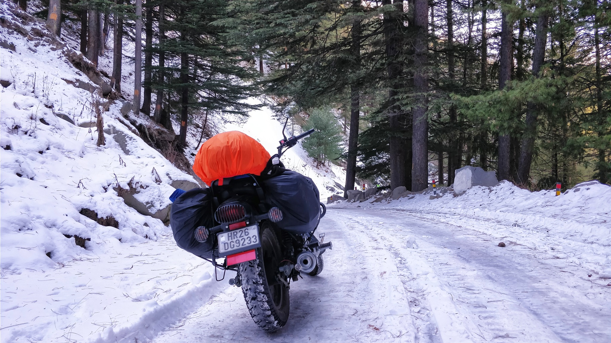 Snow Ride by Aman Chaudhary