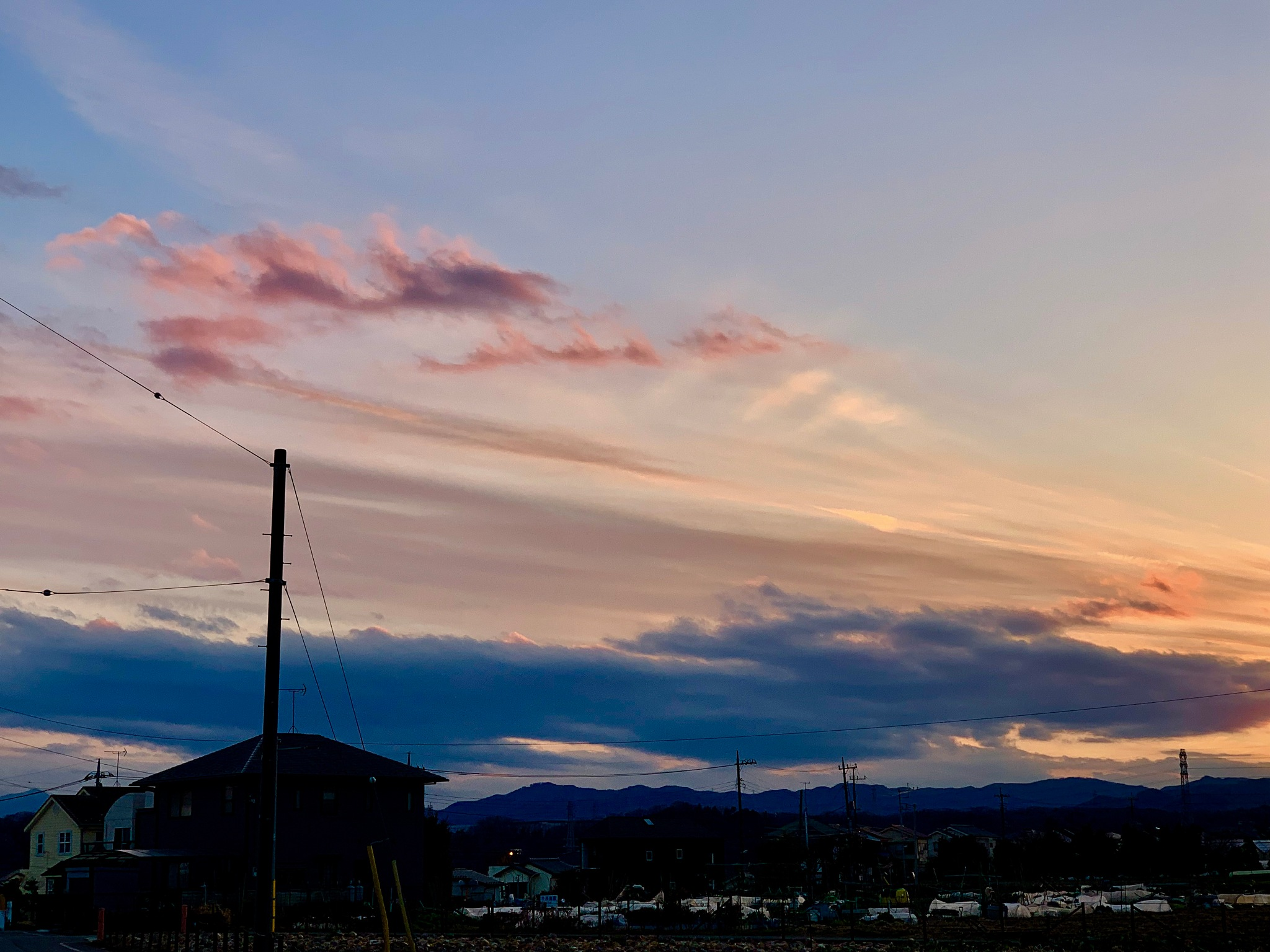 Photo in Random #sunset #sky #nature #clouds