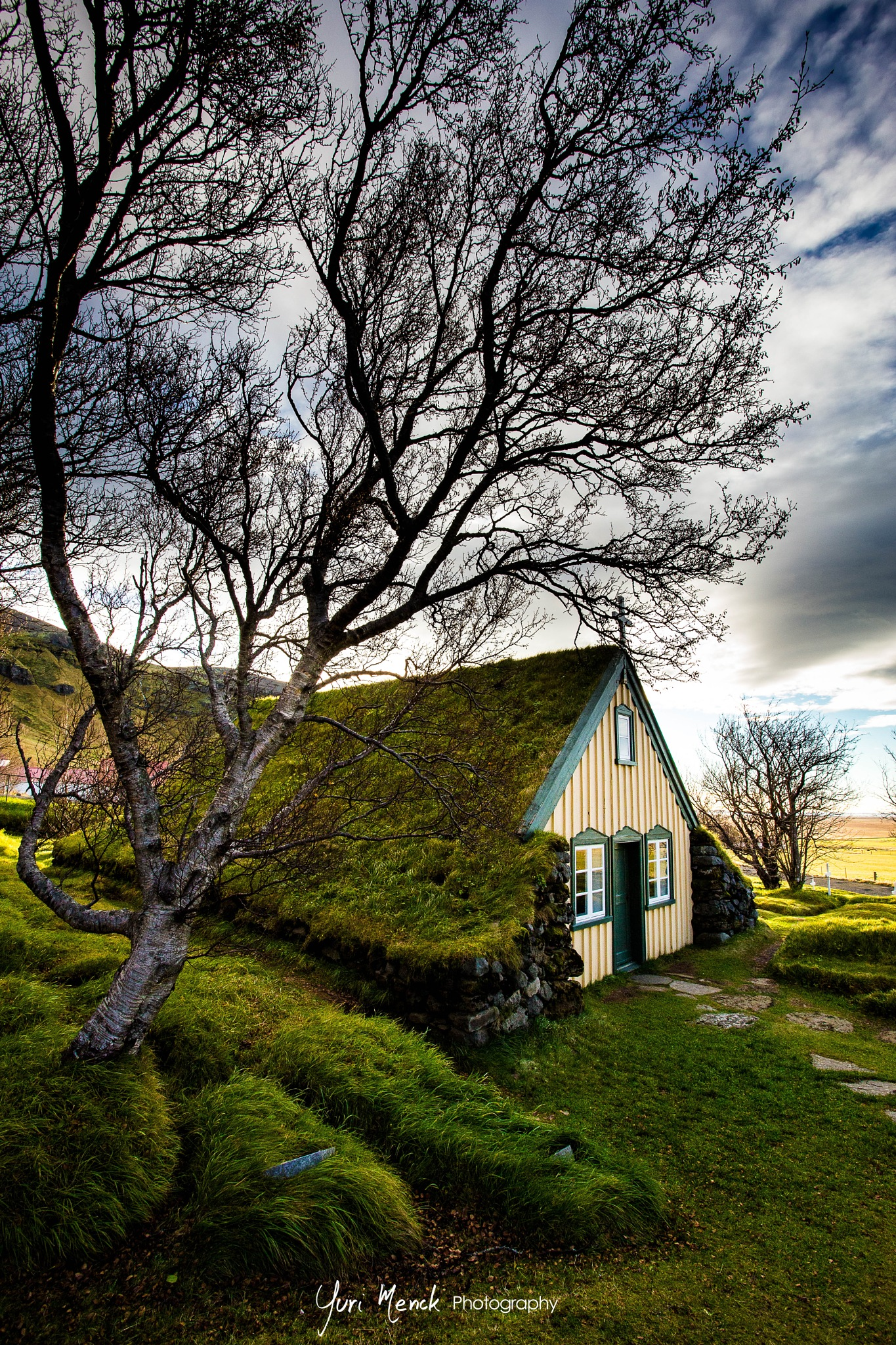 Icelandic Church by Yuri Menck