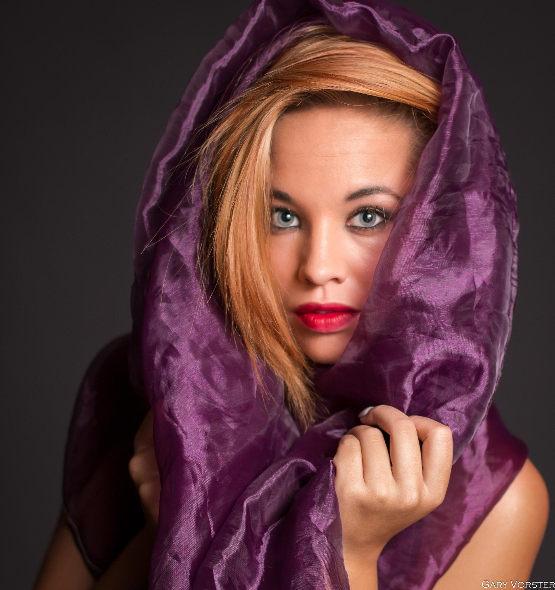 purple.. by Gary Vorster