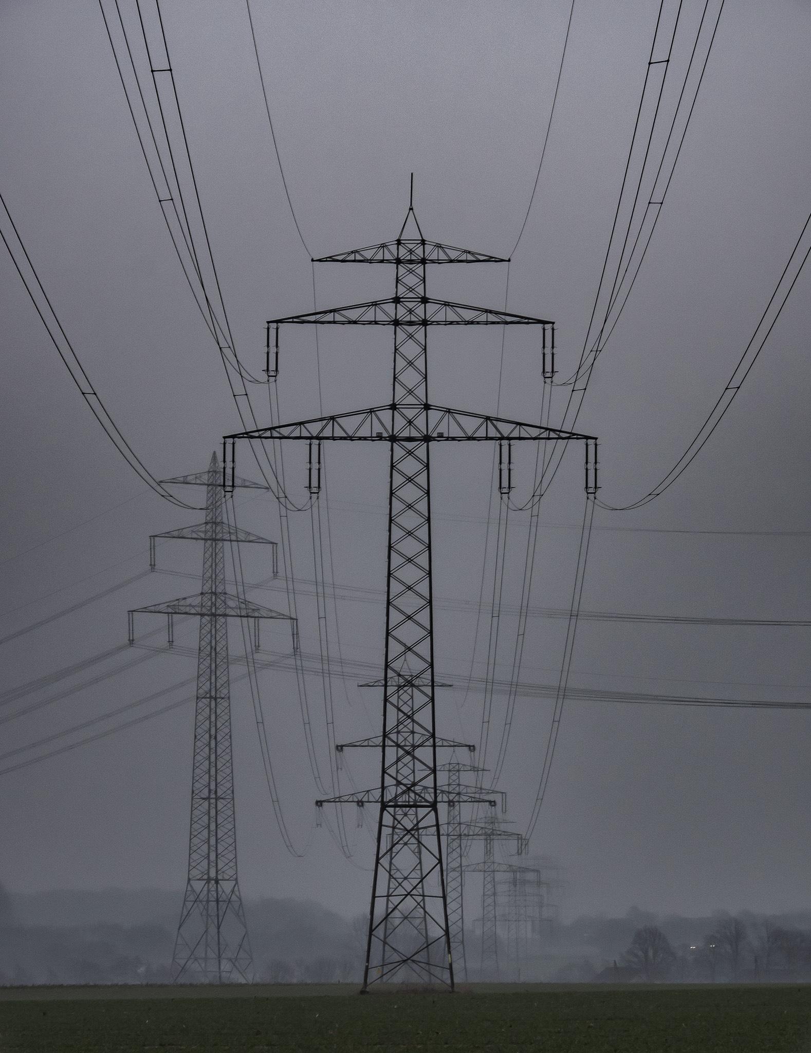 Power Lines by JohannesTonn