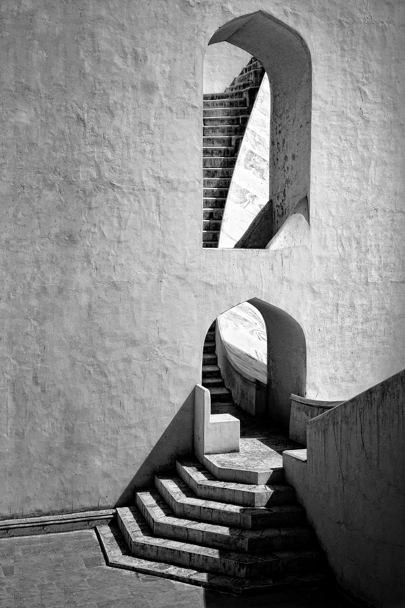 Stairway to Time by Roxanne Bouche' Overton