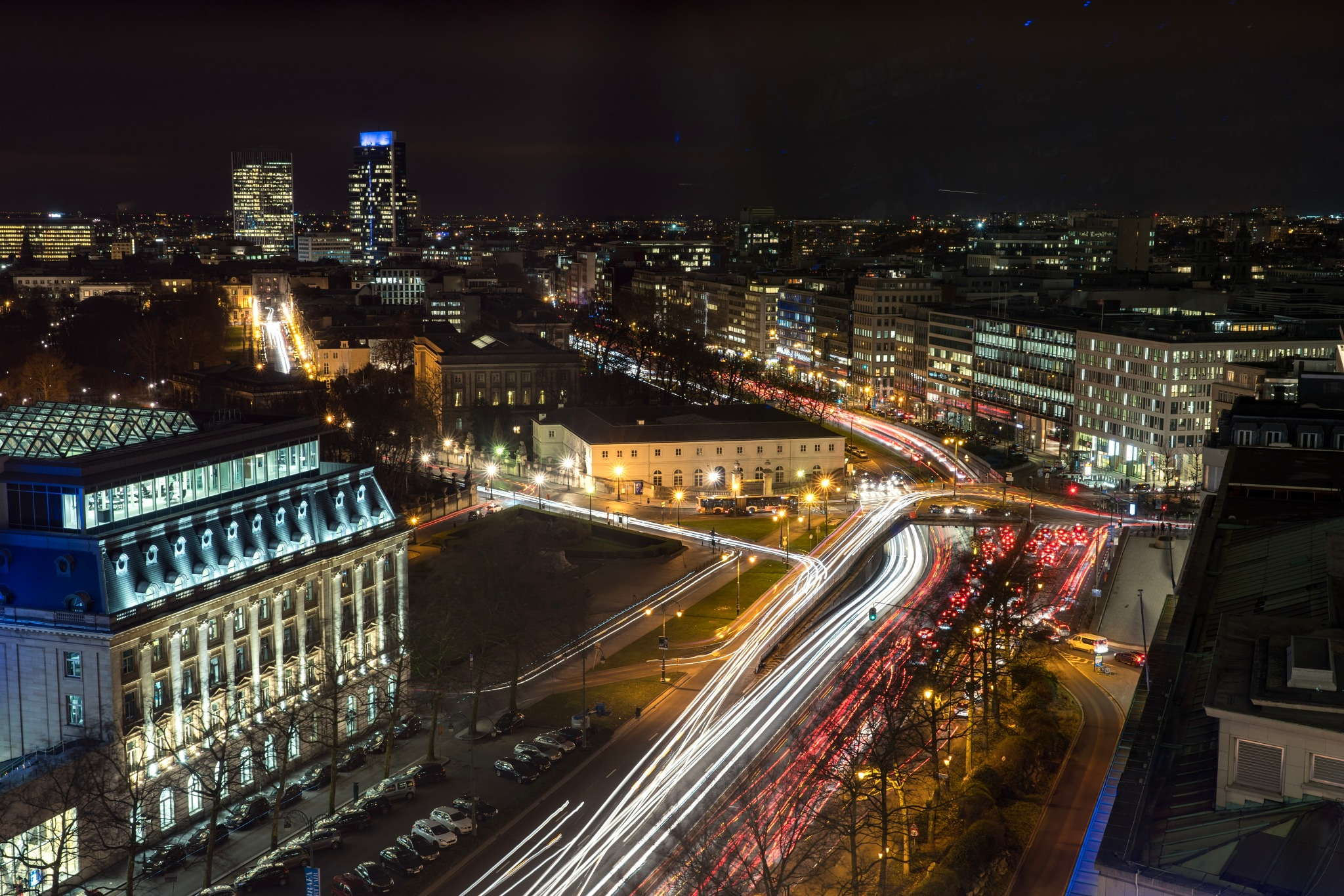 Brussels by night! by Floran Hachez