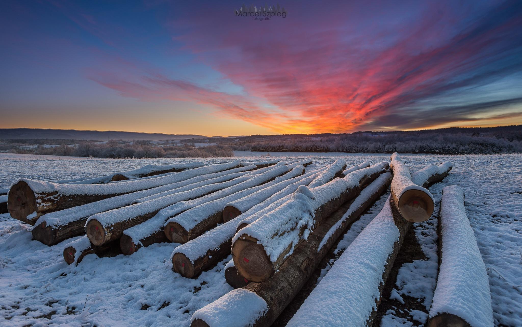 Winter by Marcel Szpieg