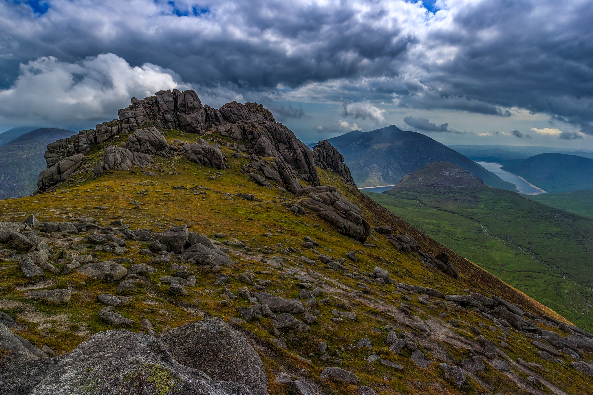 Bearnagh Summit by Barrie Lathwell