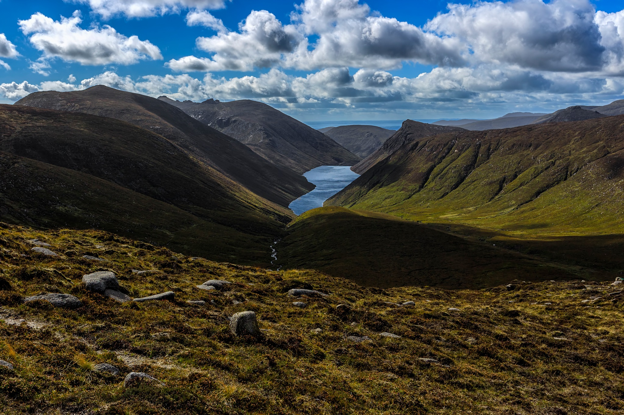 Viewing Ben Crom by Barrie Lathwell