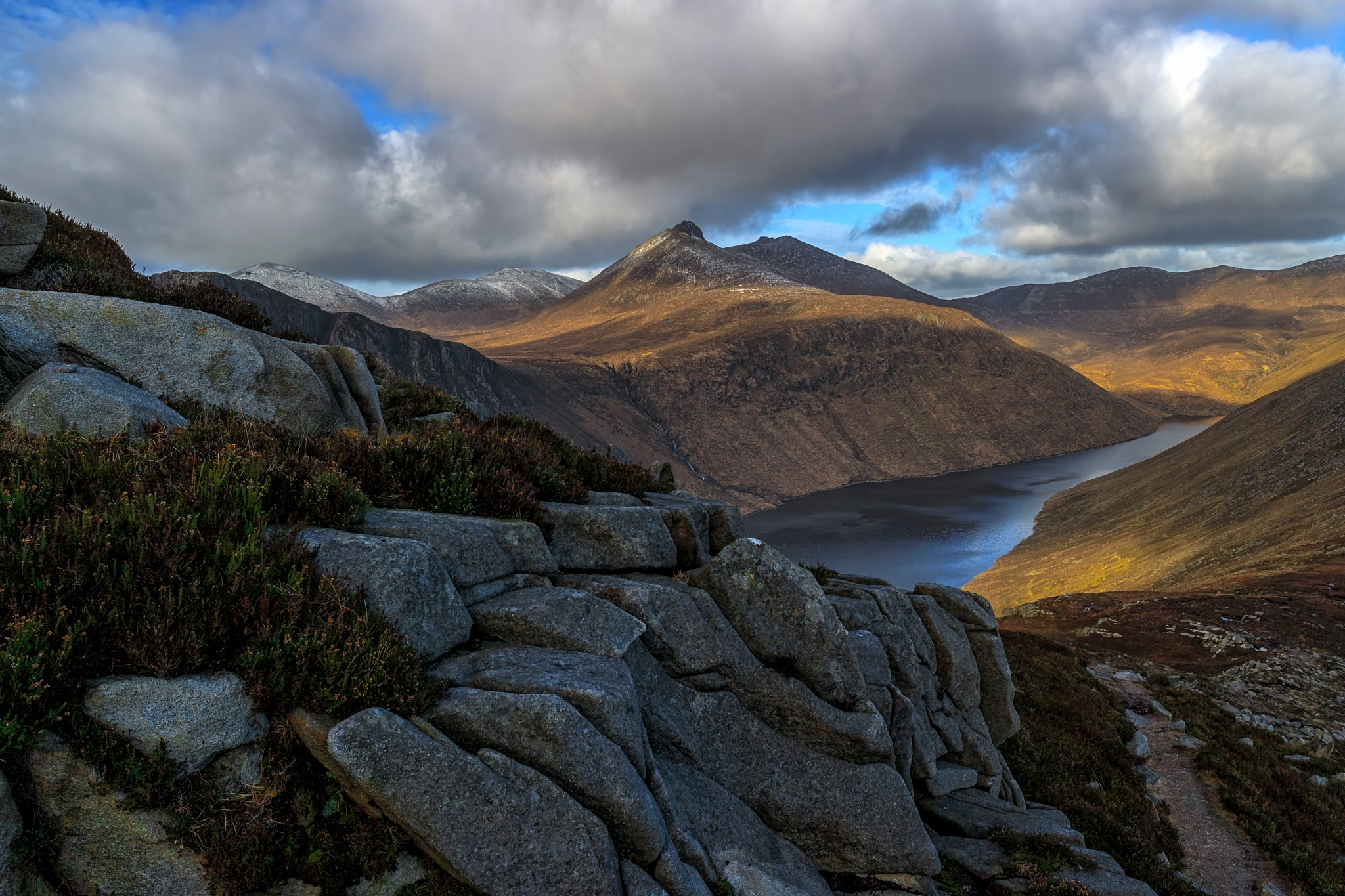 Bearnagh In View by Barrie Lathwell