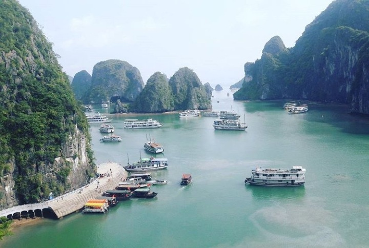 Halcyon Halong Bay by Ellessandra