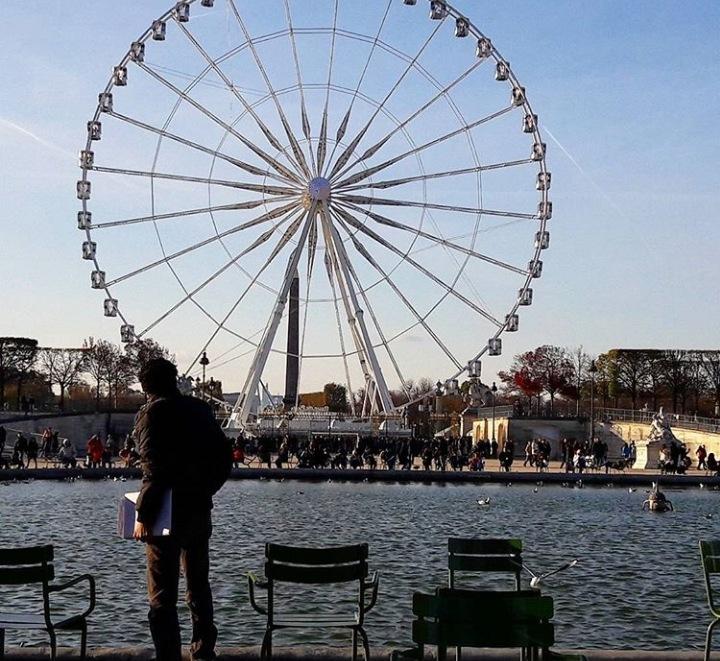 Paris Ferris by Ellessandra