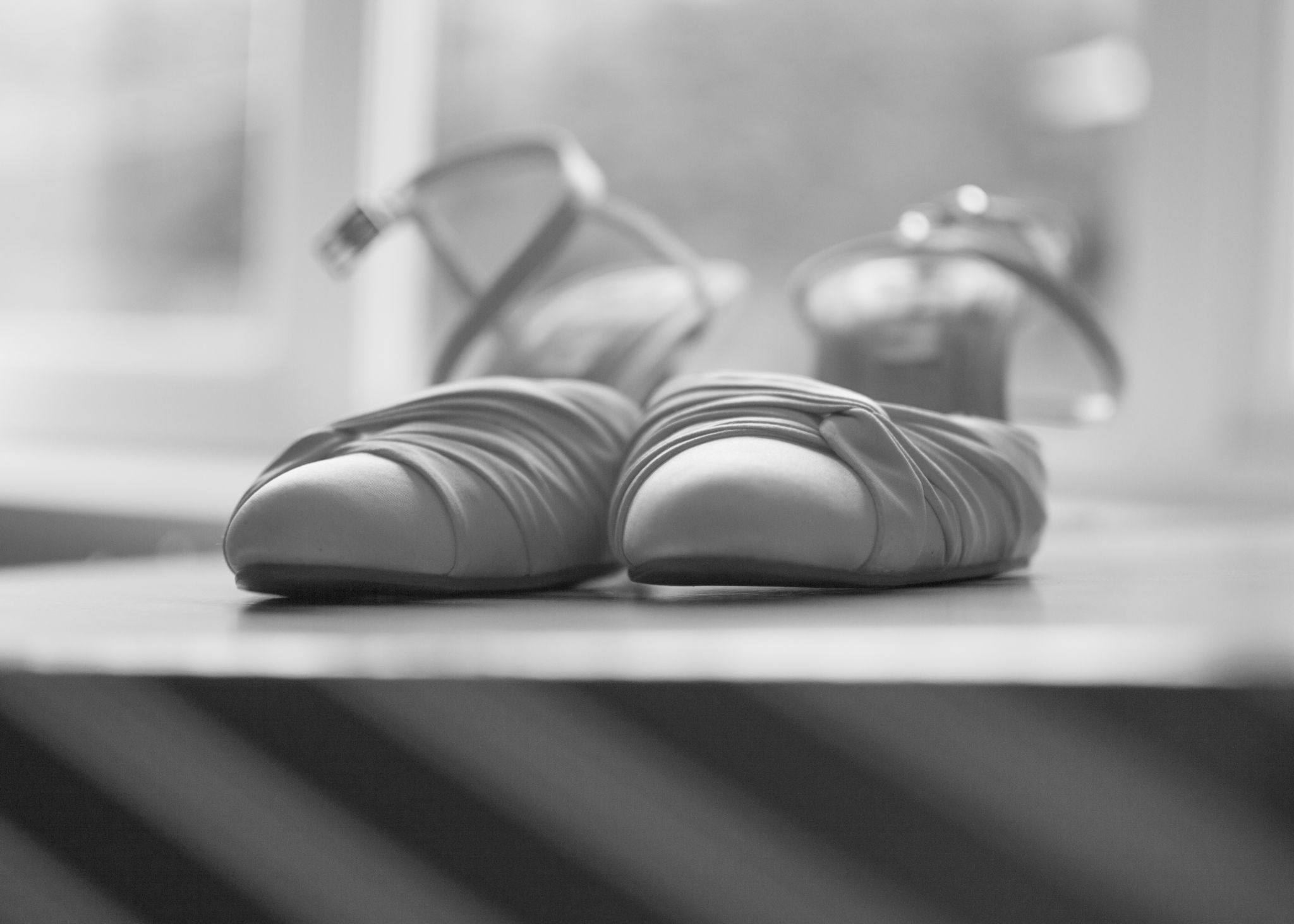 wedding shoes by RichardJohnPhotography