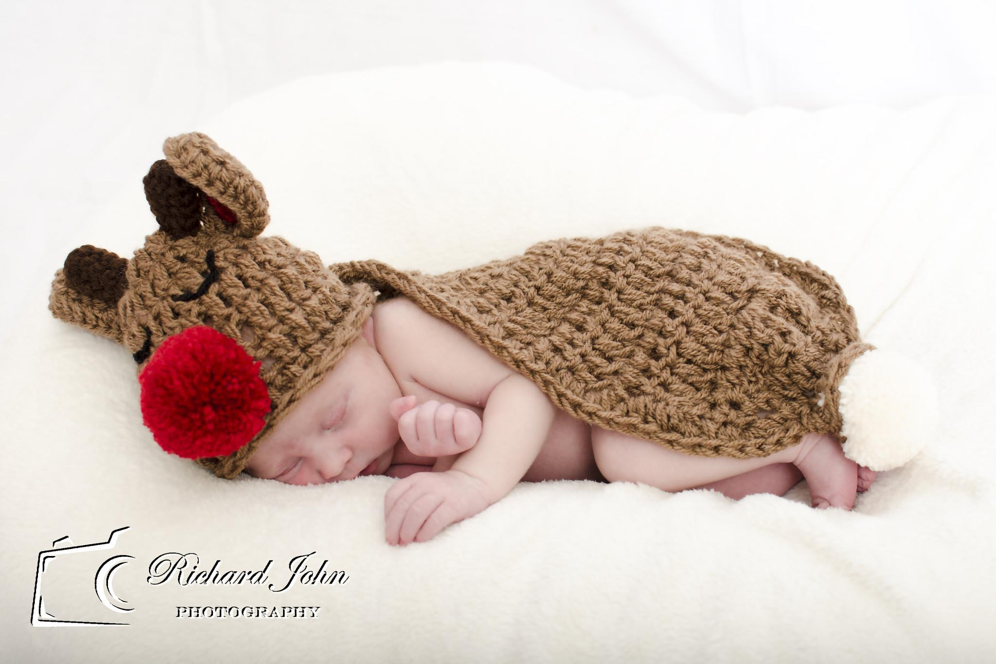 Rudolf baby by RichardJohnPhotography