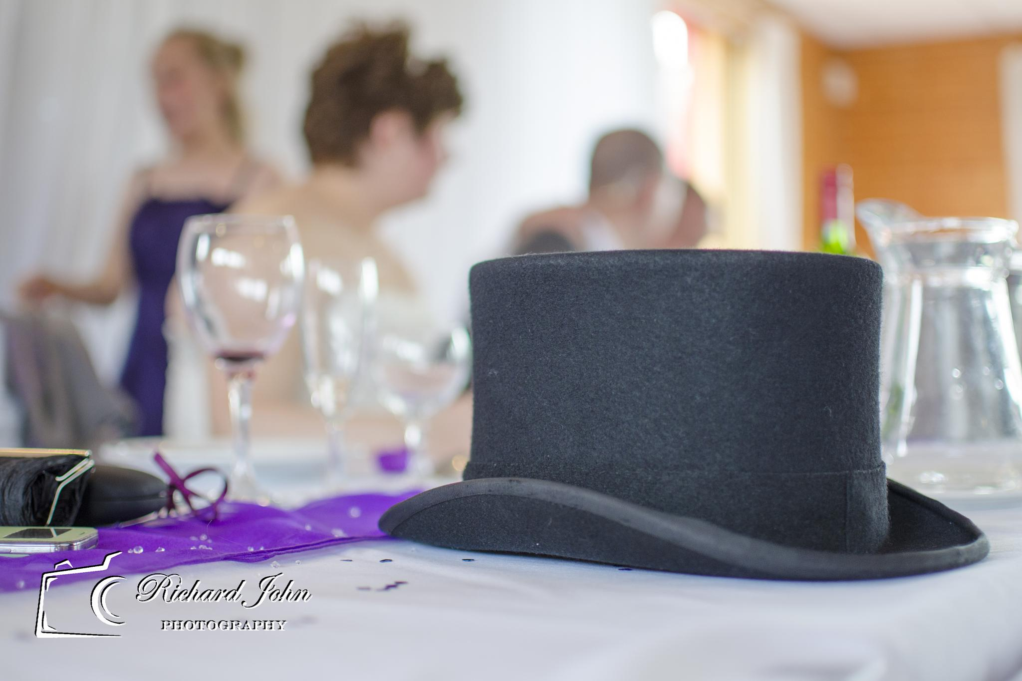 Photo in Wedding #wedding #top hat #dof