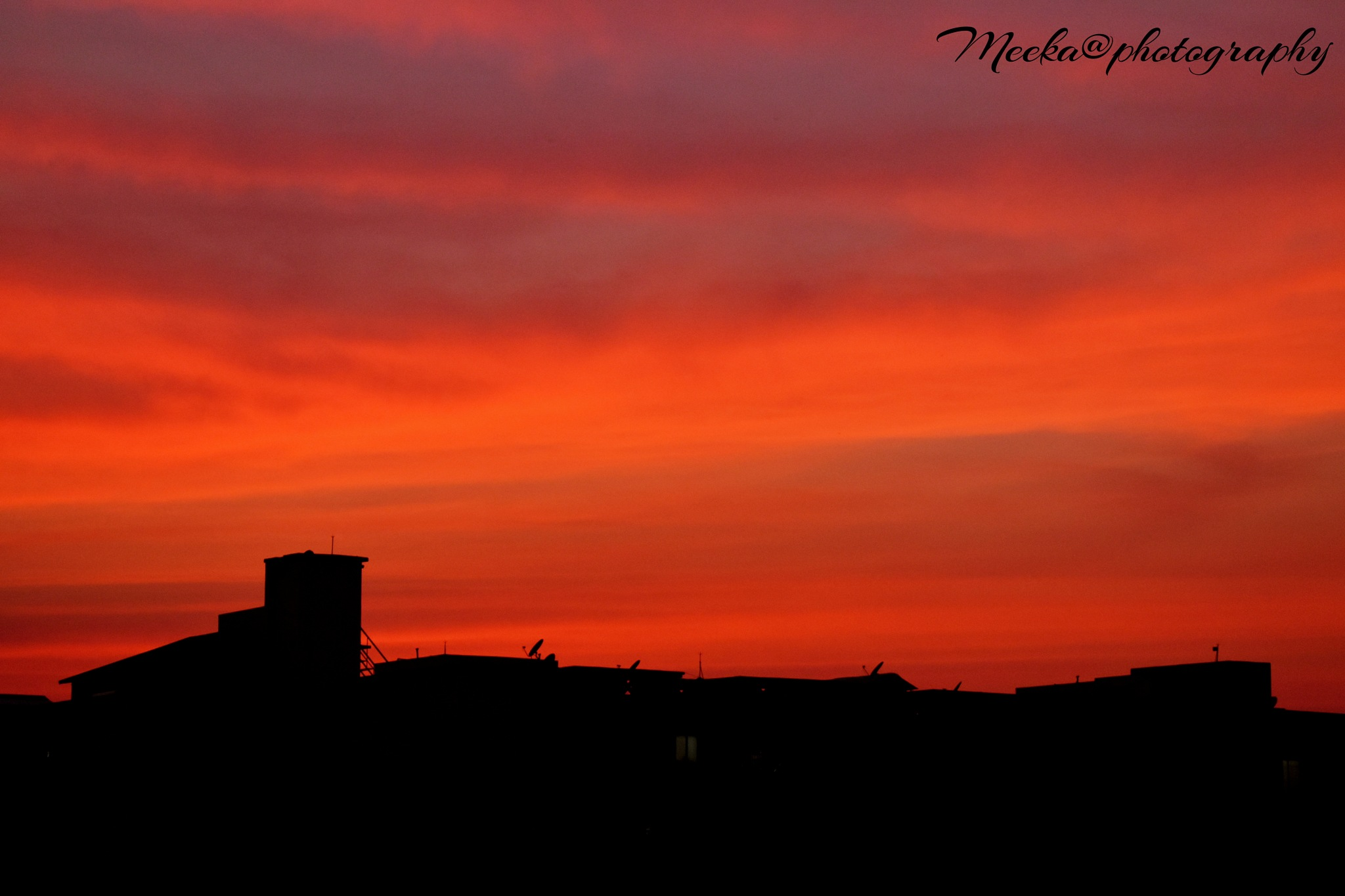 Beautiful sunset by Meena Majhiyan