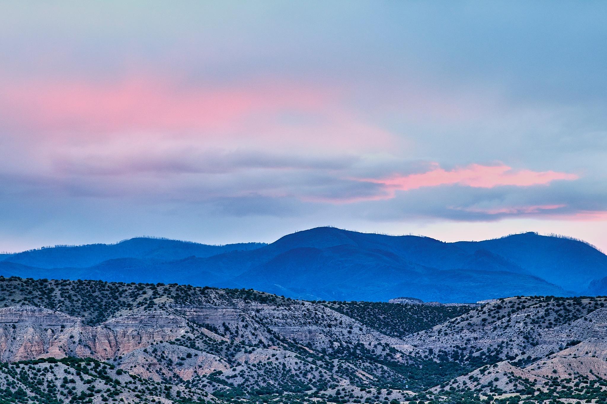 Jemez Mountains by Pierre Liard