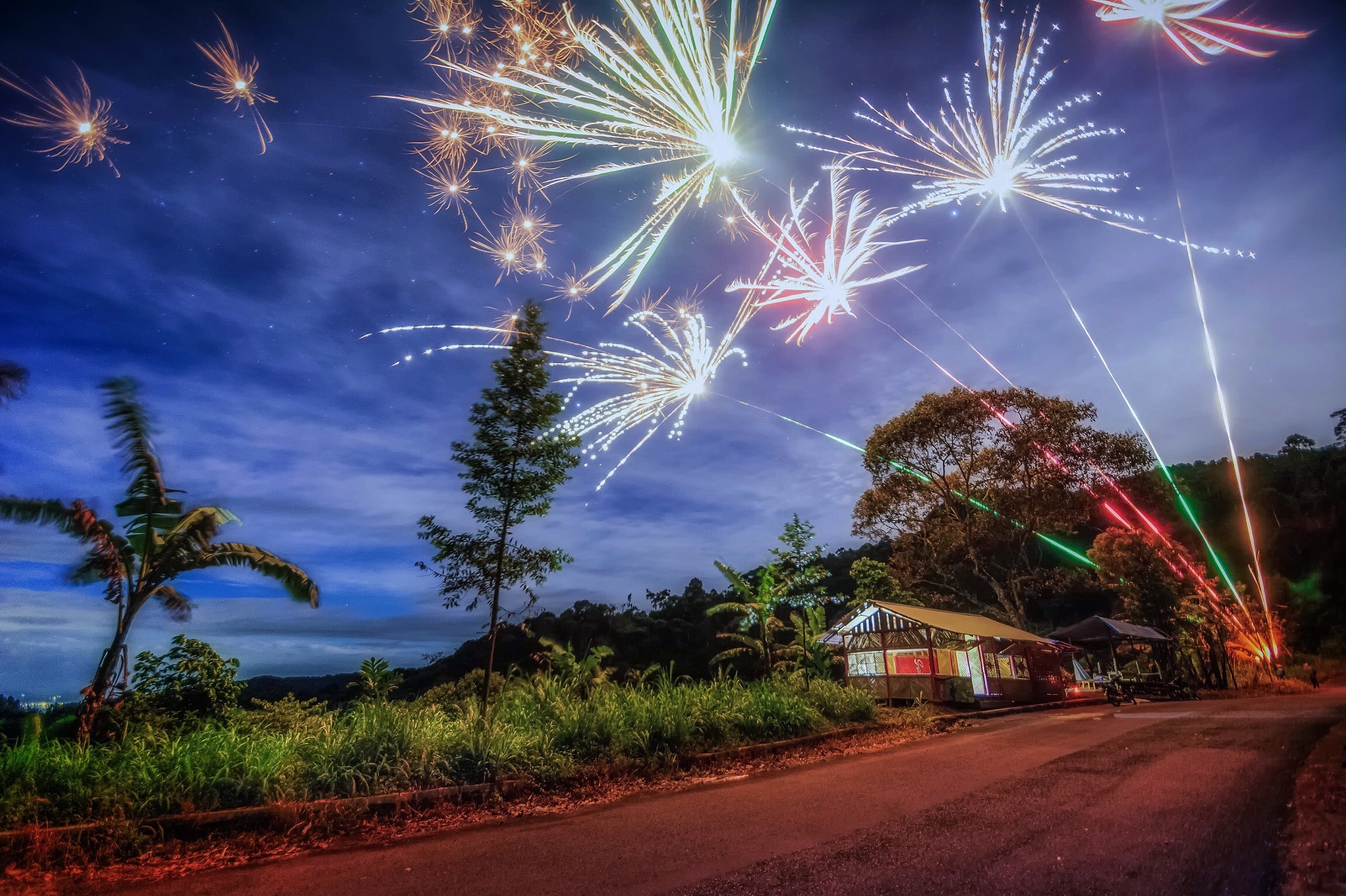 New uear eve by Adam Victor Handoyo