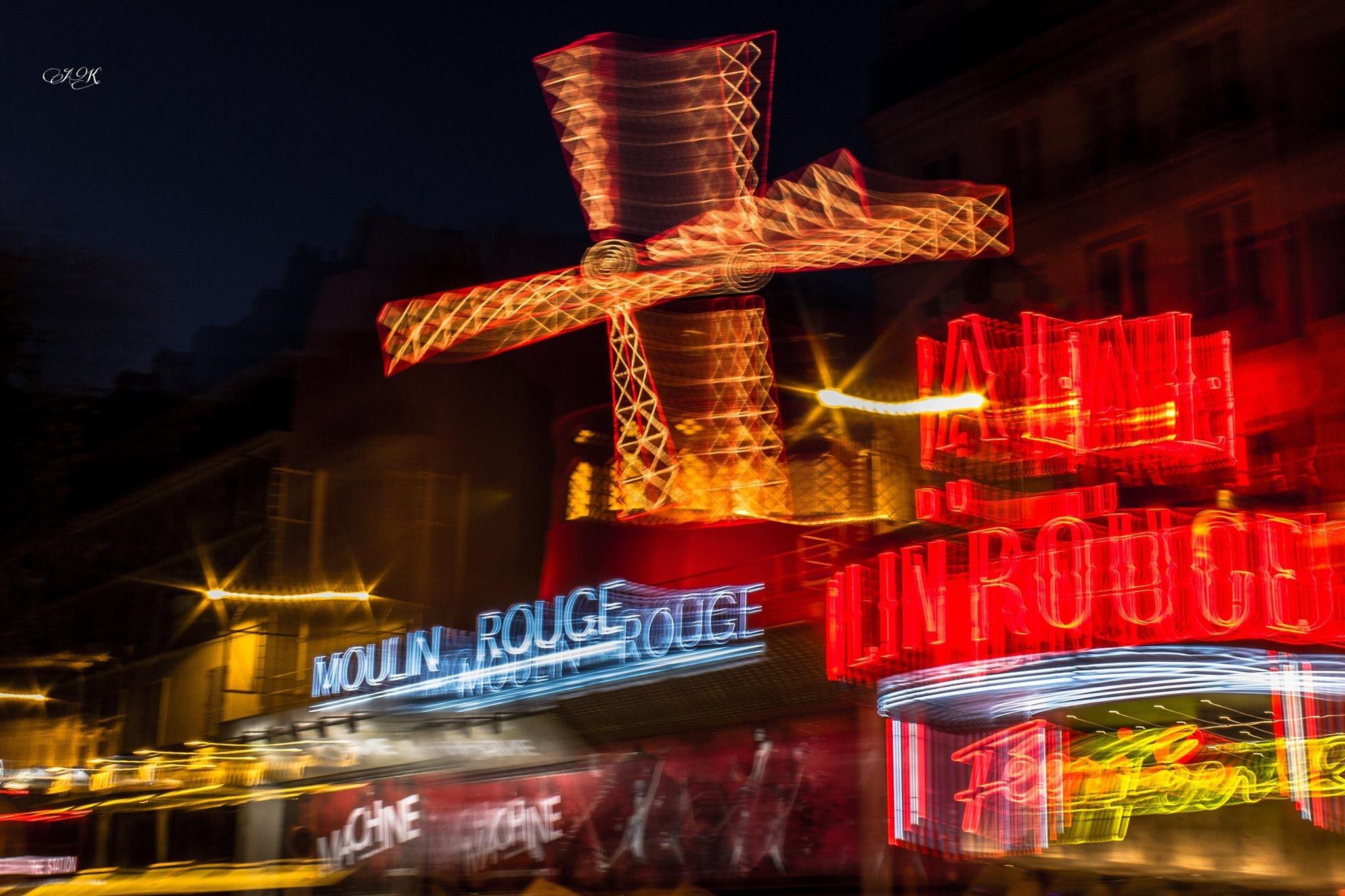 Moulin Rouge  - Paris by Ankur Khatri