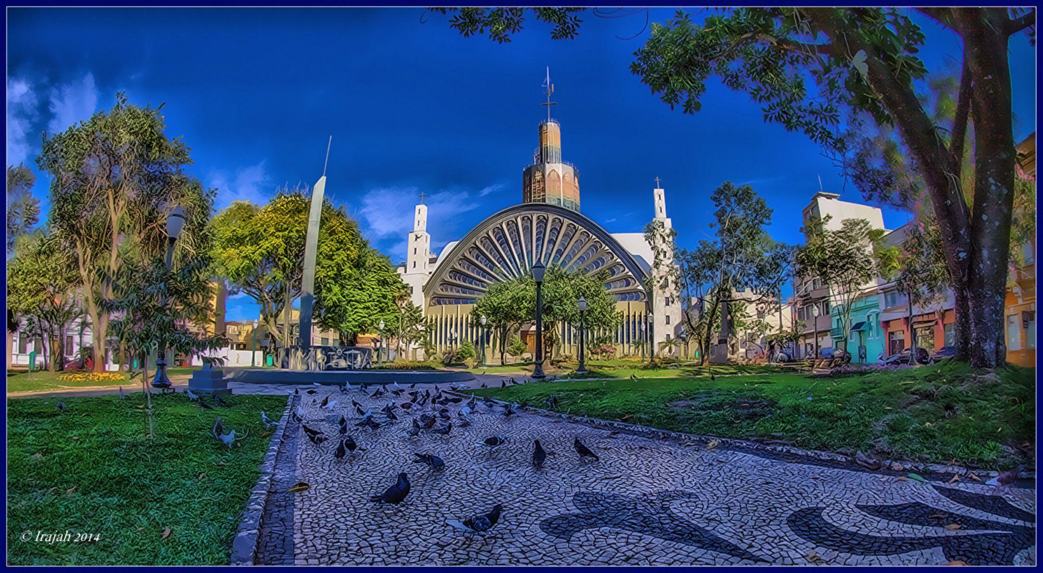 Catedral Ponta Grossa Parana Brazil by Irajah