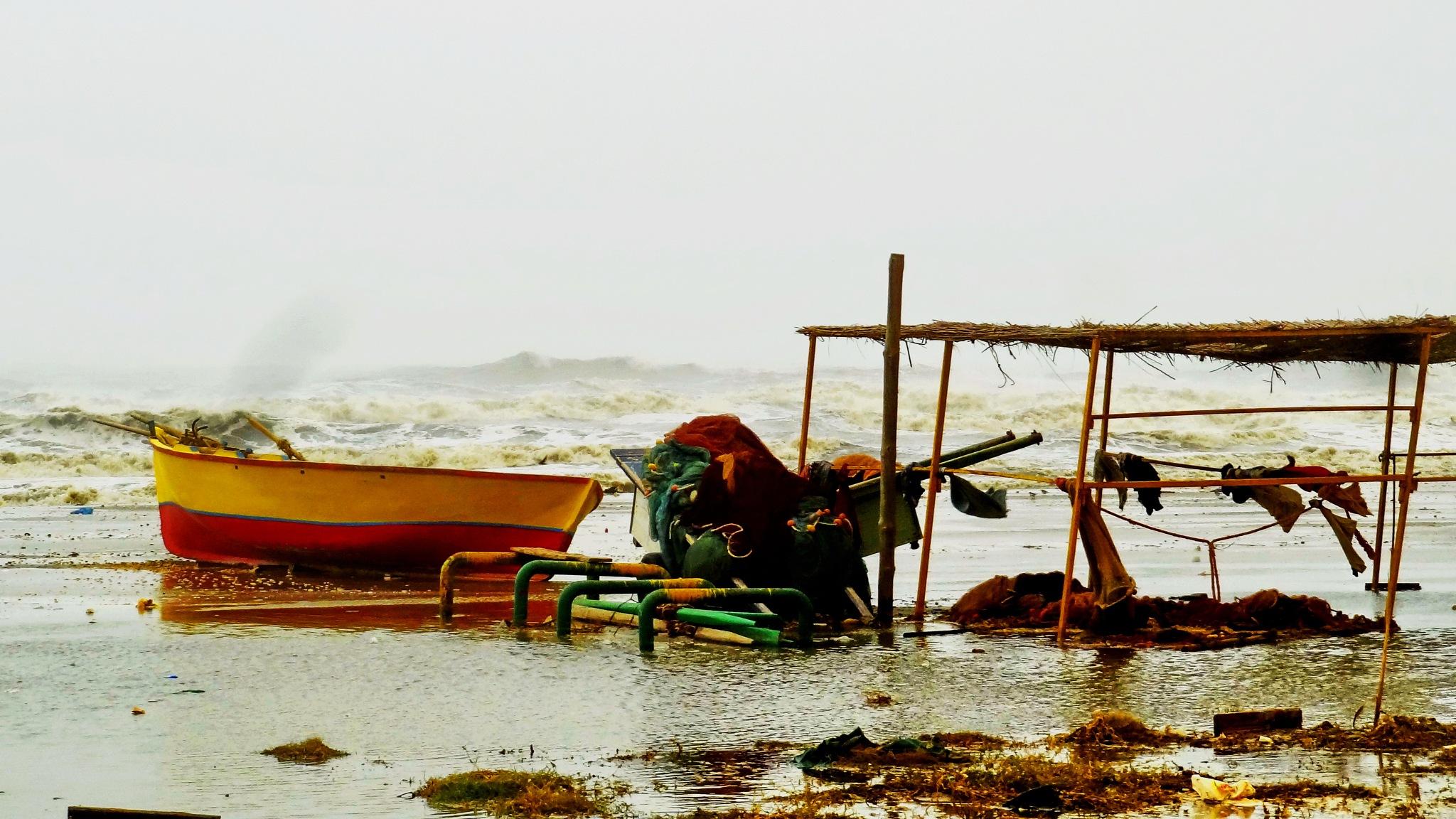 Port said.....Egypt... Windy storm by ragab ramzy elhamamy