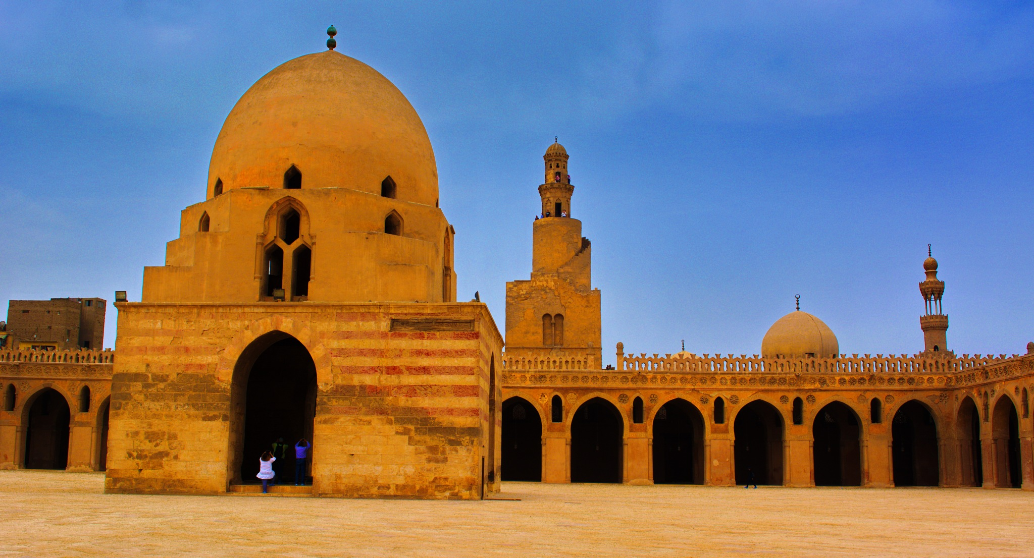 Landmarks of Egypt Al Mahrousa ... Mosque of Sultan Ahmad Ibn Tulun by ragab ramzy elhamamy