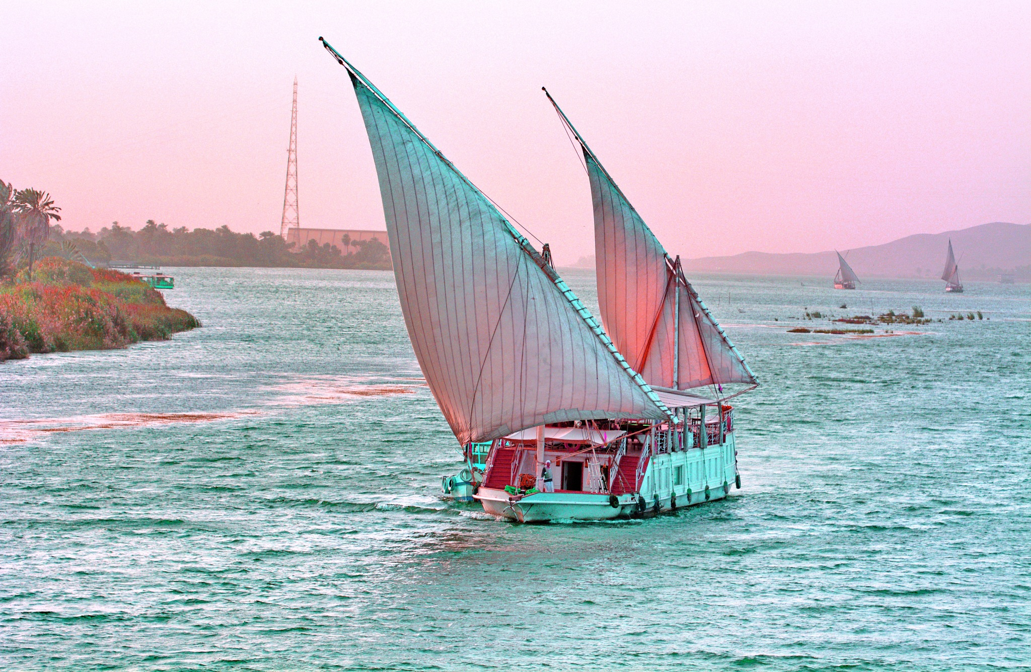 #Boat......Aswan Nile ...Egypy by ragab ramzy elhamamy