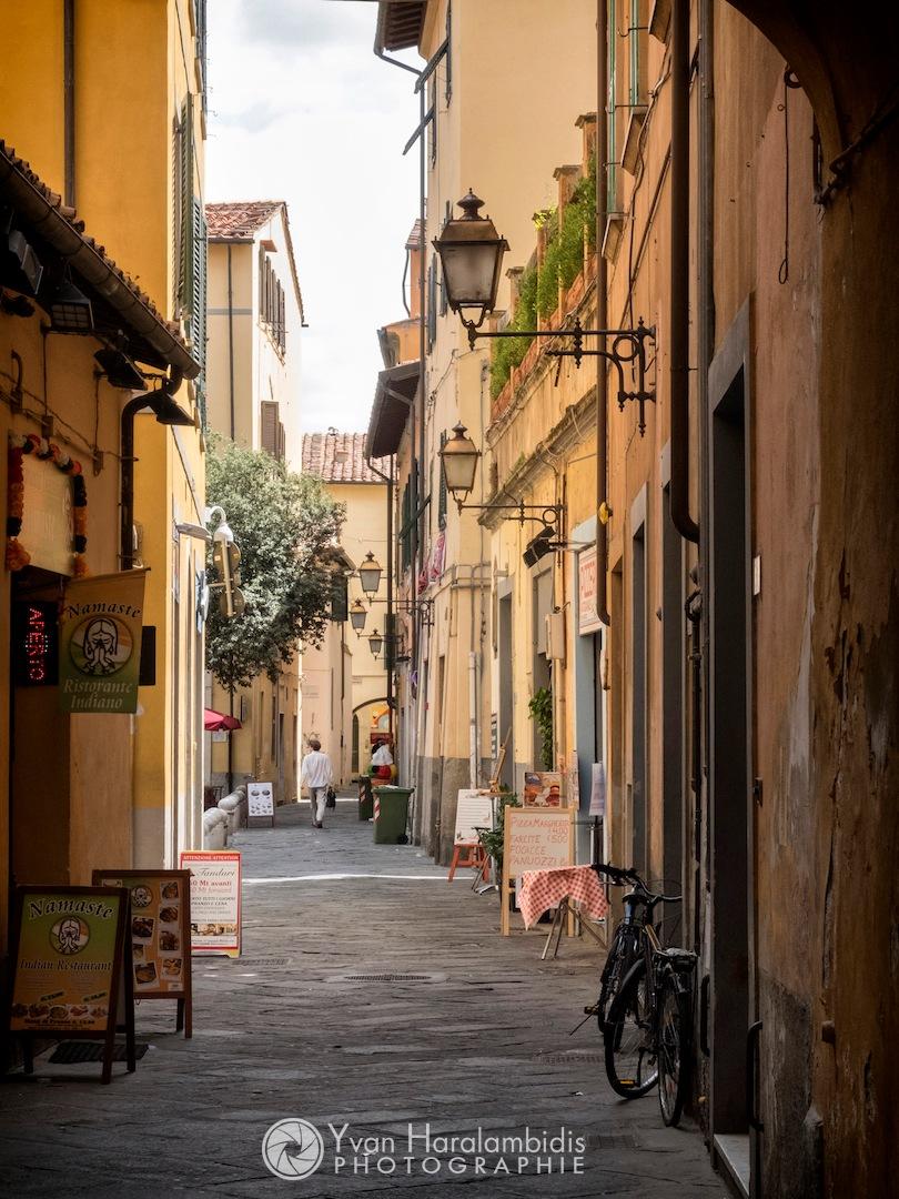 Streets of Pisa... by Yvan Haralambidis