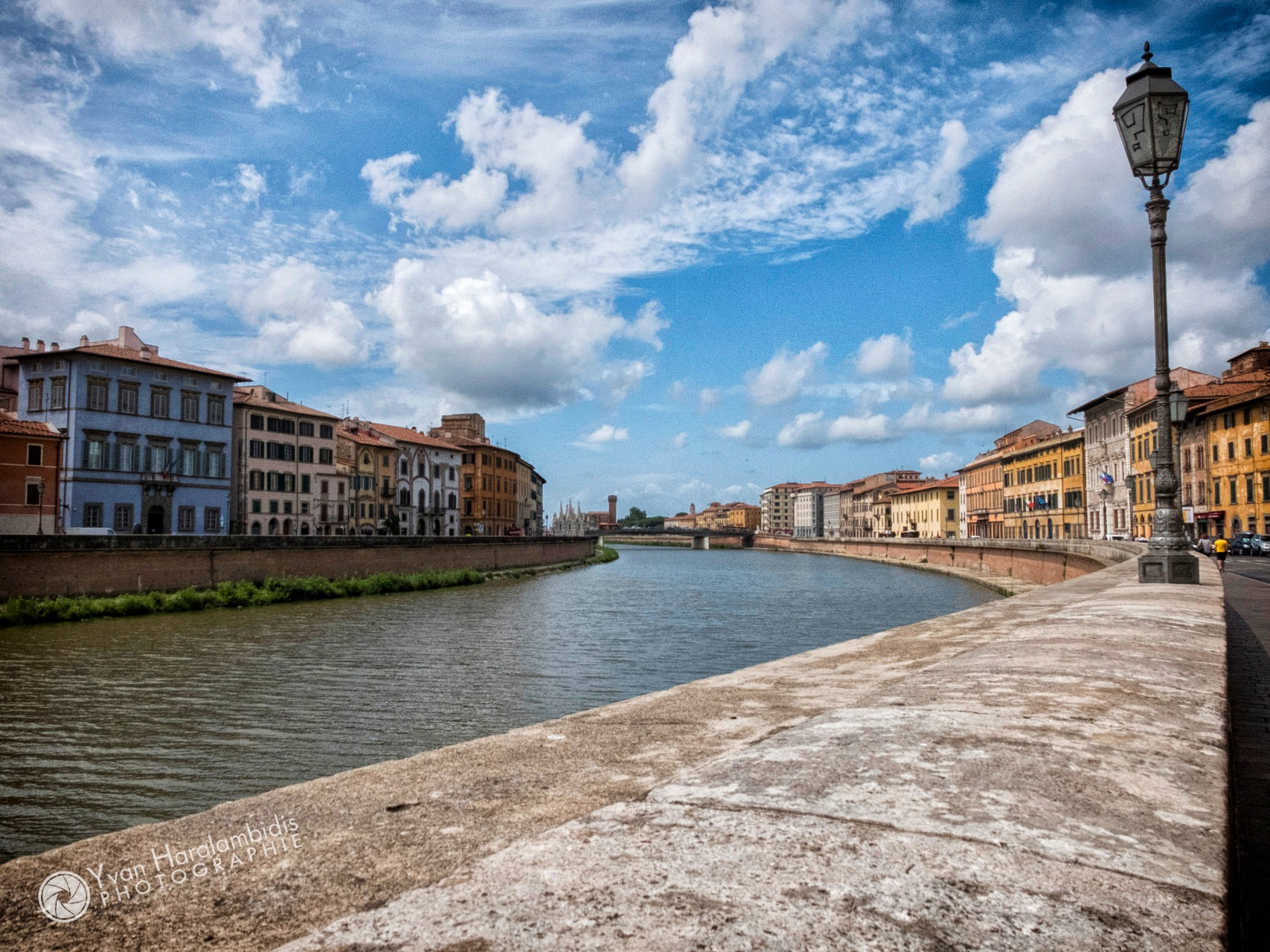 The other city of Pisa... by Yvan Haralambidis