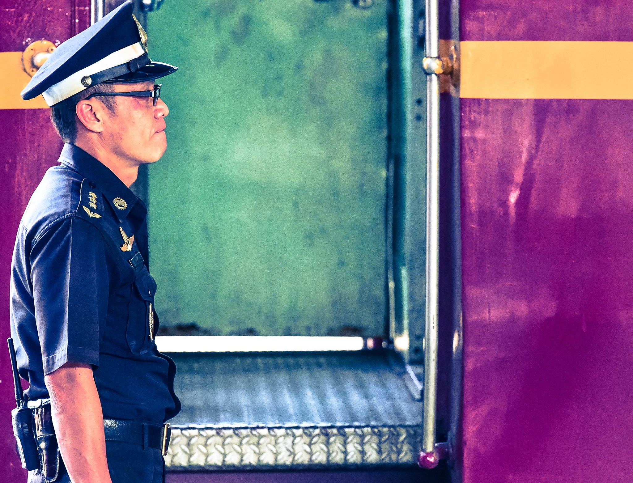 A Day at Bangkok Train Station by noelmiller