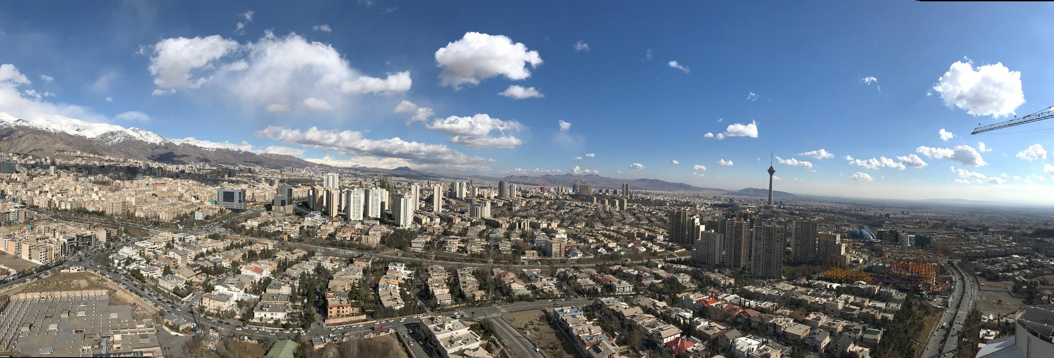 """Big """"Tehran"""" by Omid Shaterian"""