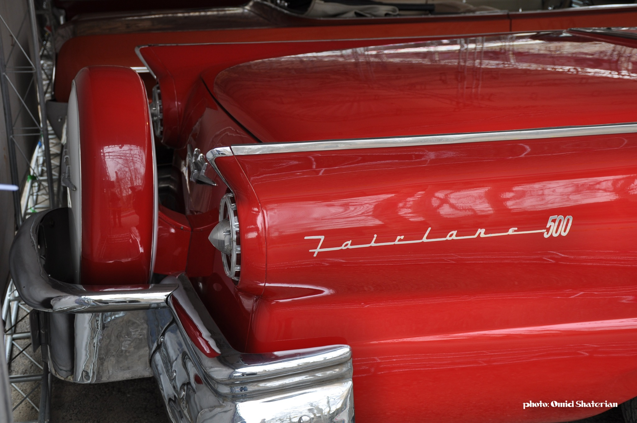 Ford skyliner 1957 by Omid Shaterian