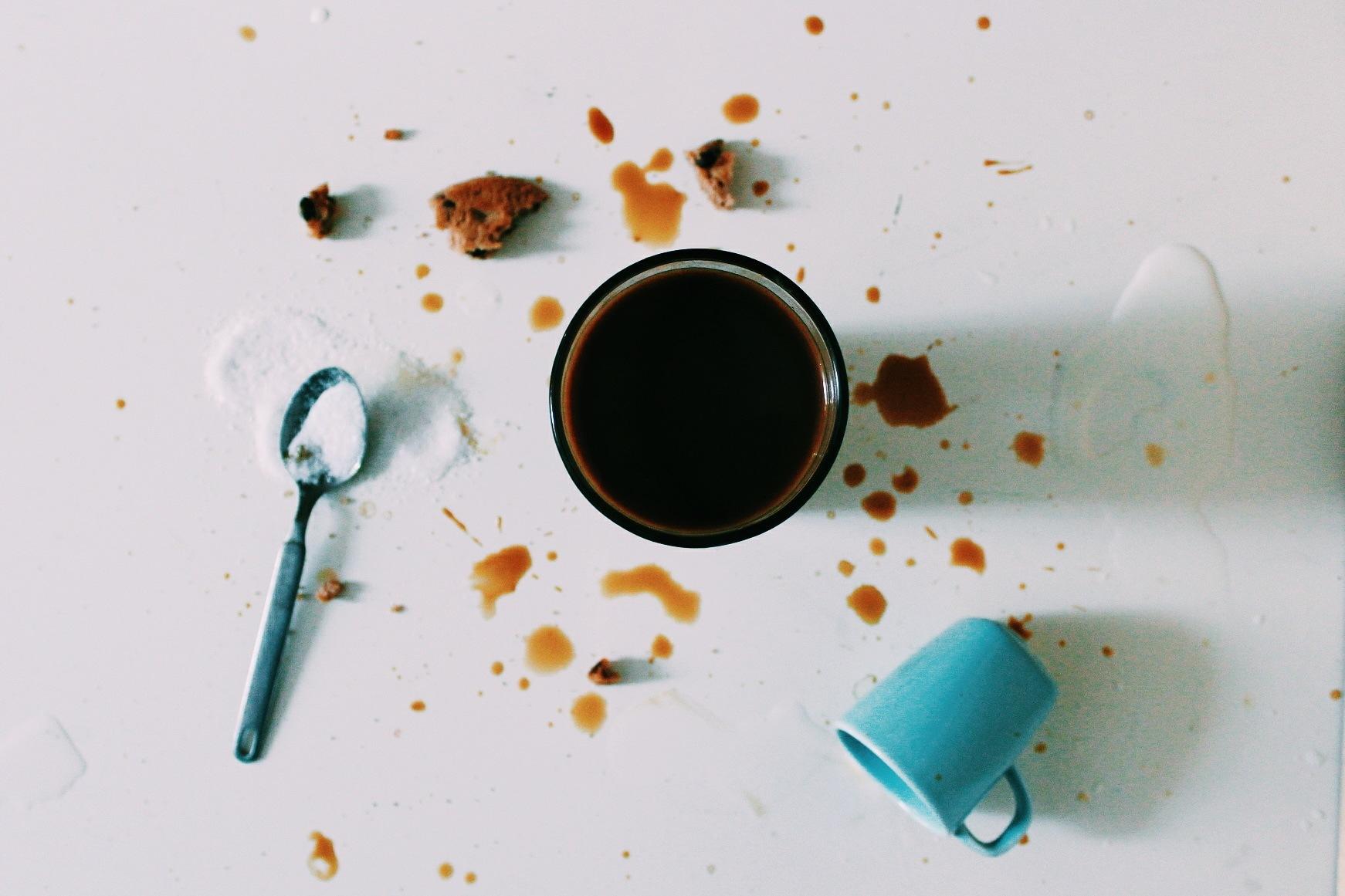 coffe mess by rimeczga