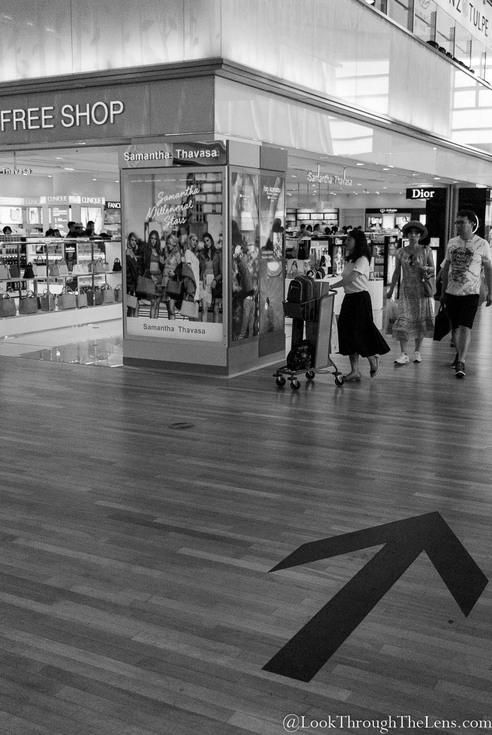 Airport Shopping by Look Through The Lens