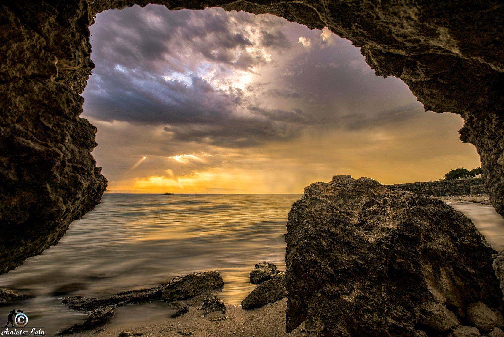 The cave. Torre Specchia (LE) ITA by Amleto Lala