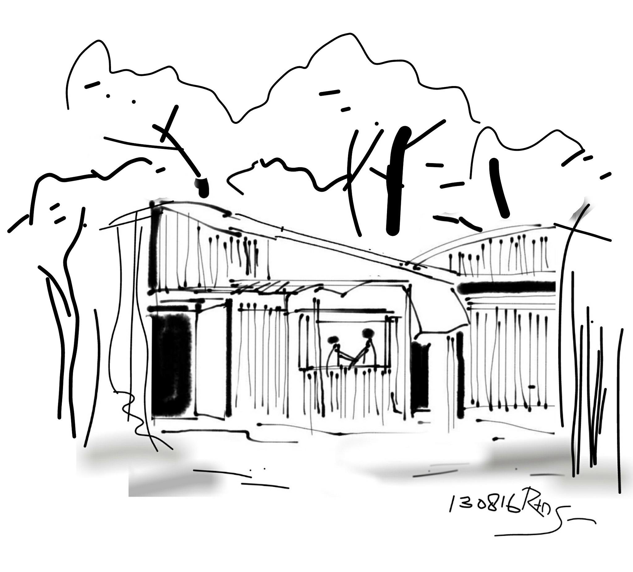 Huts by Retno