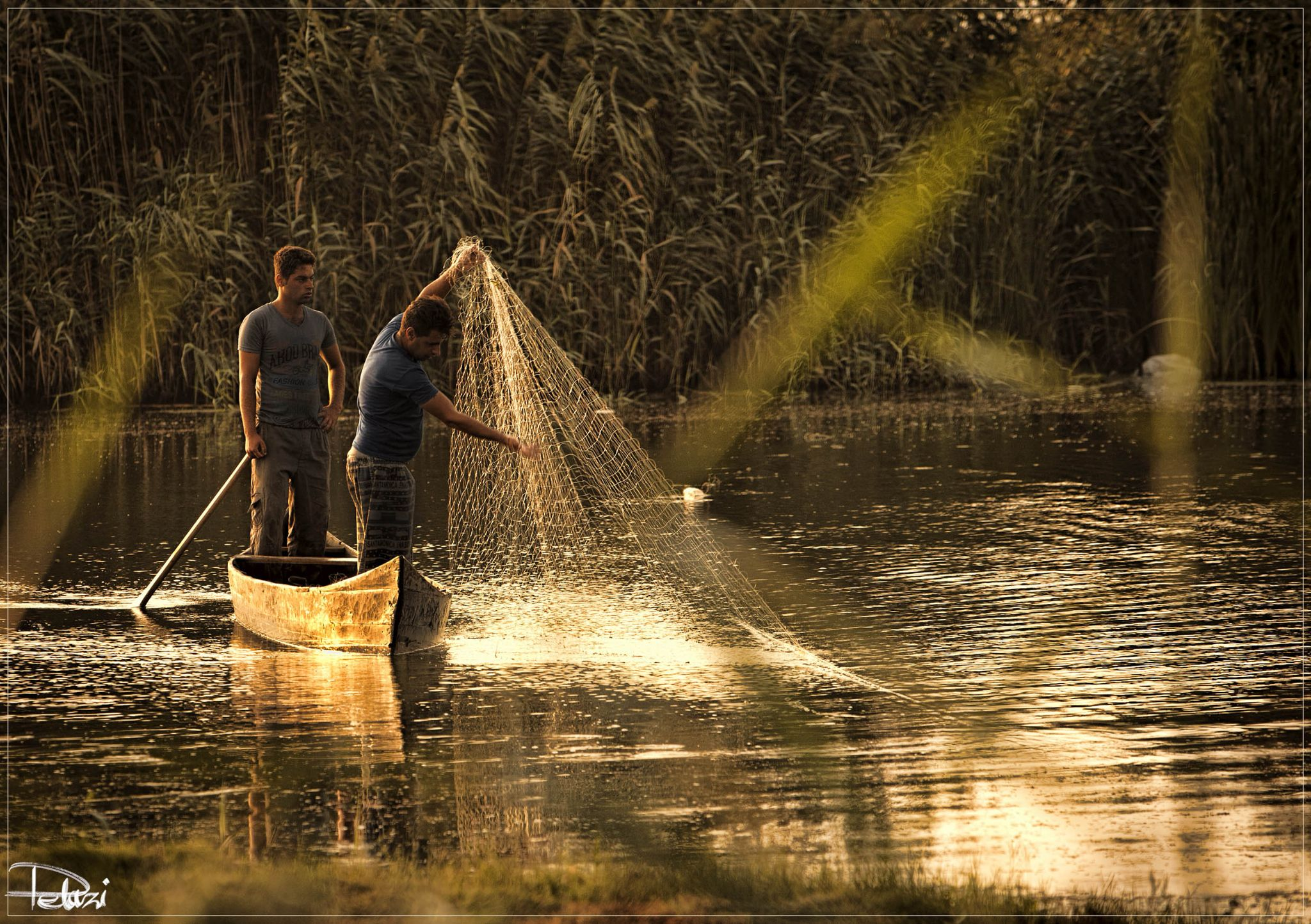 The Fishermen by Delaram Razi