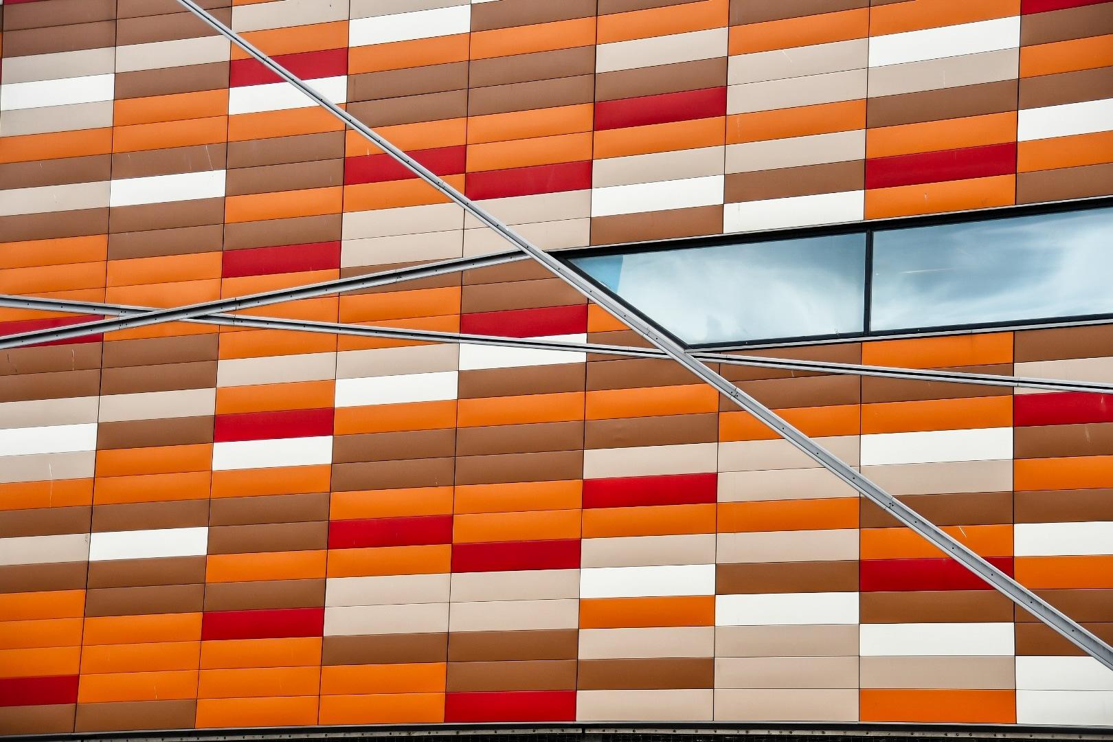 Bright Bricks of colour by Matthias Davis