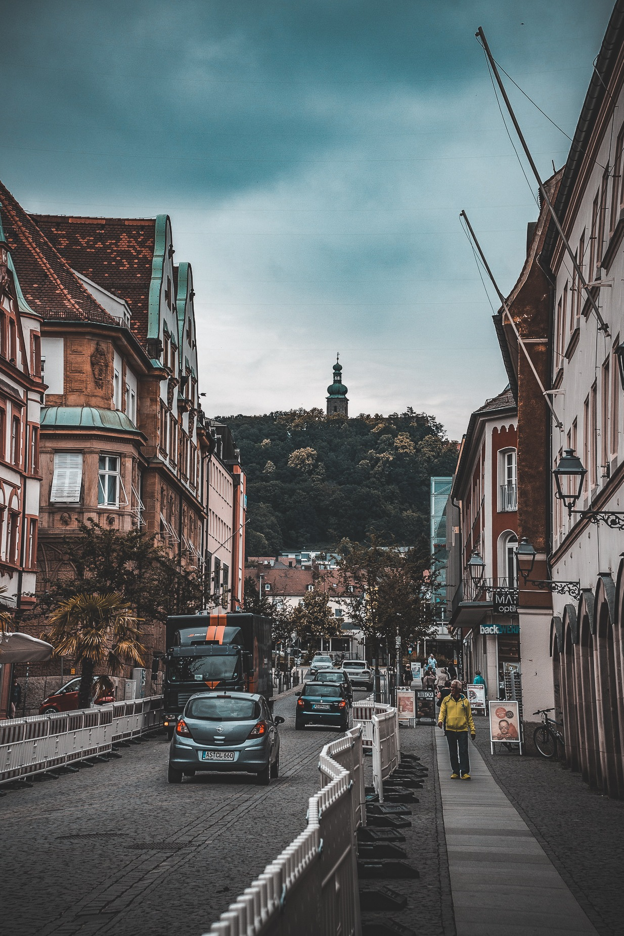 A moody day in Amberg. by Eden Perry-Thorne