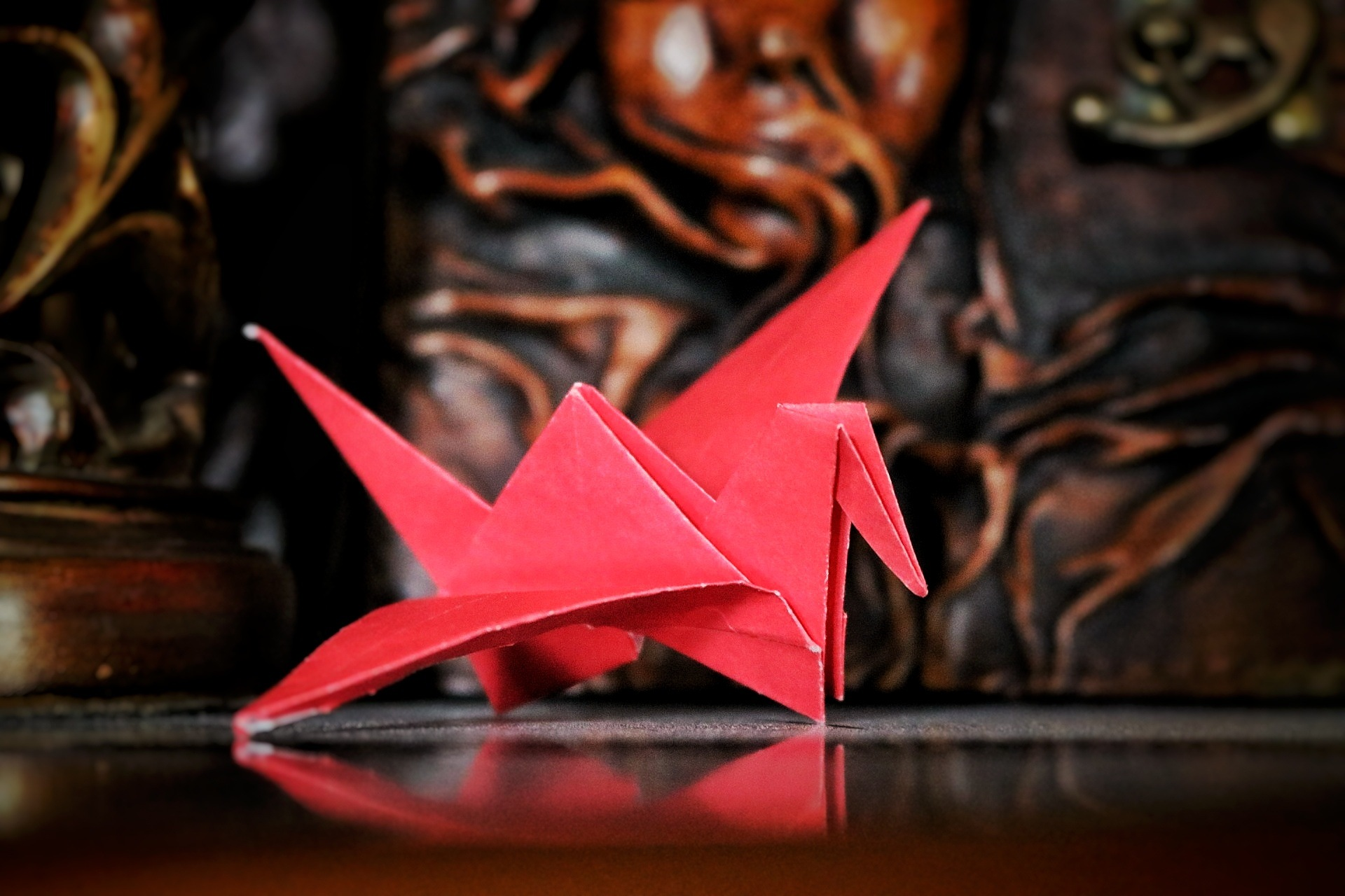 Origami Crane by Callum Cavanagh
