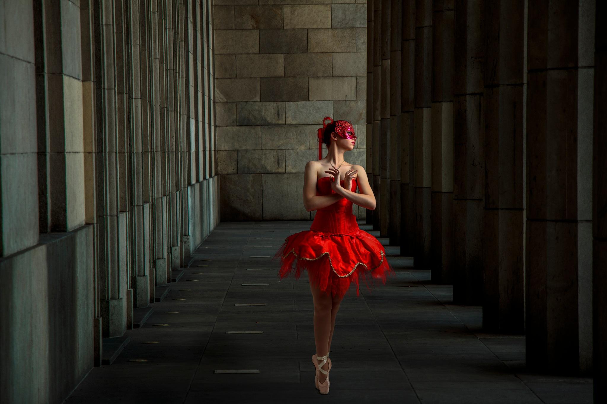dancing by Wilfried Schulze