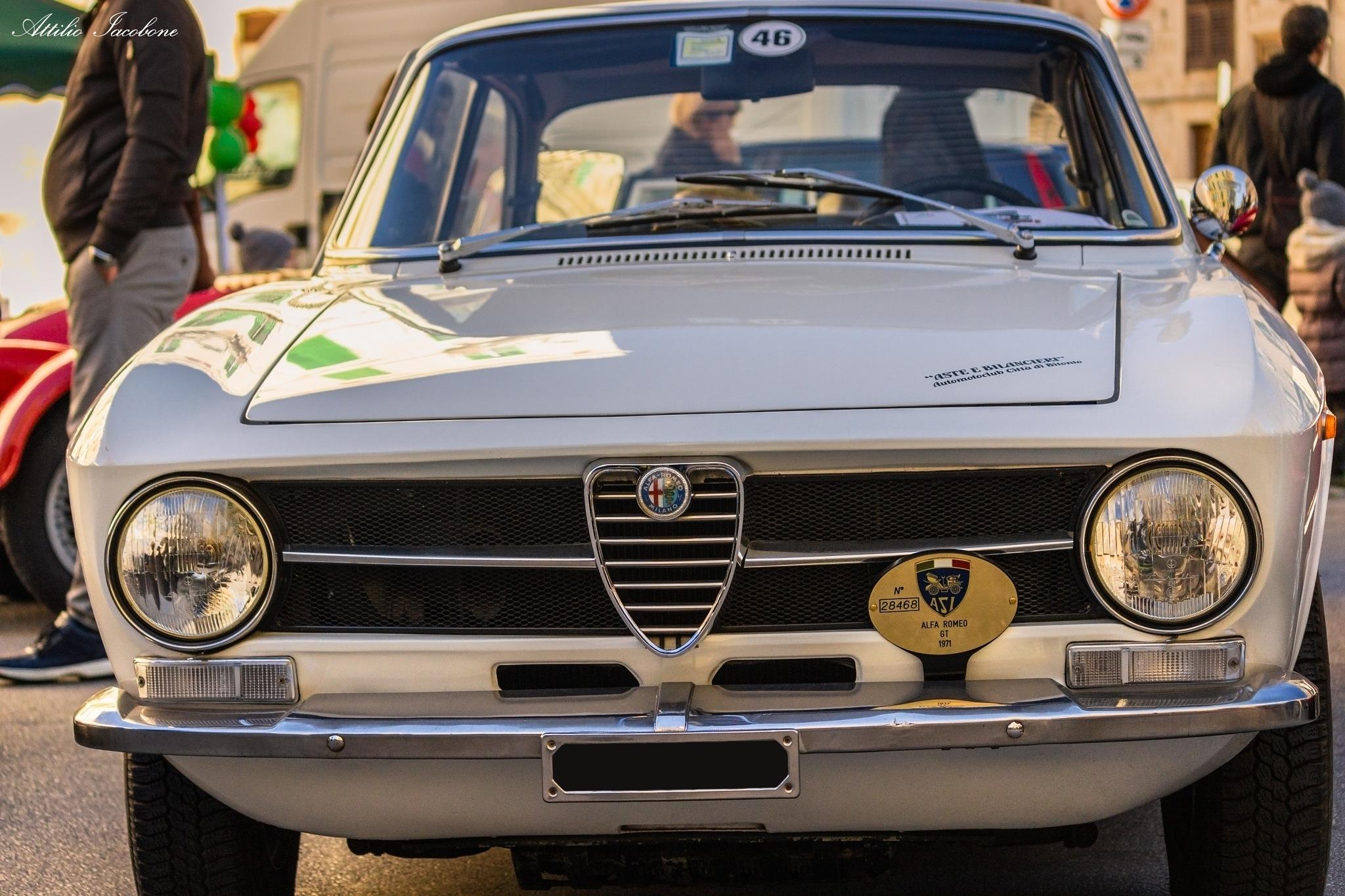 Alfa Romeo GT 1971 by Attilio Iacobone