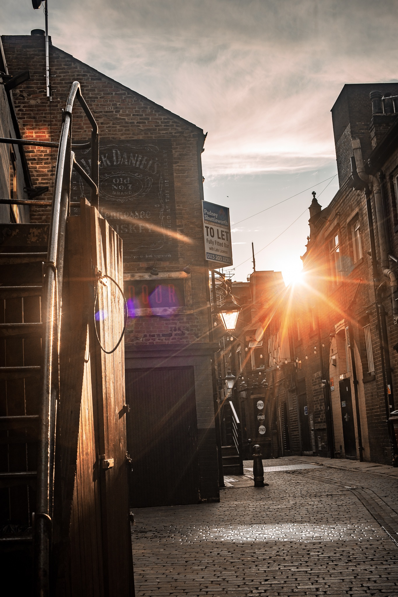 Alleyway Flares by Kevin